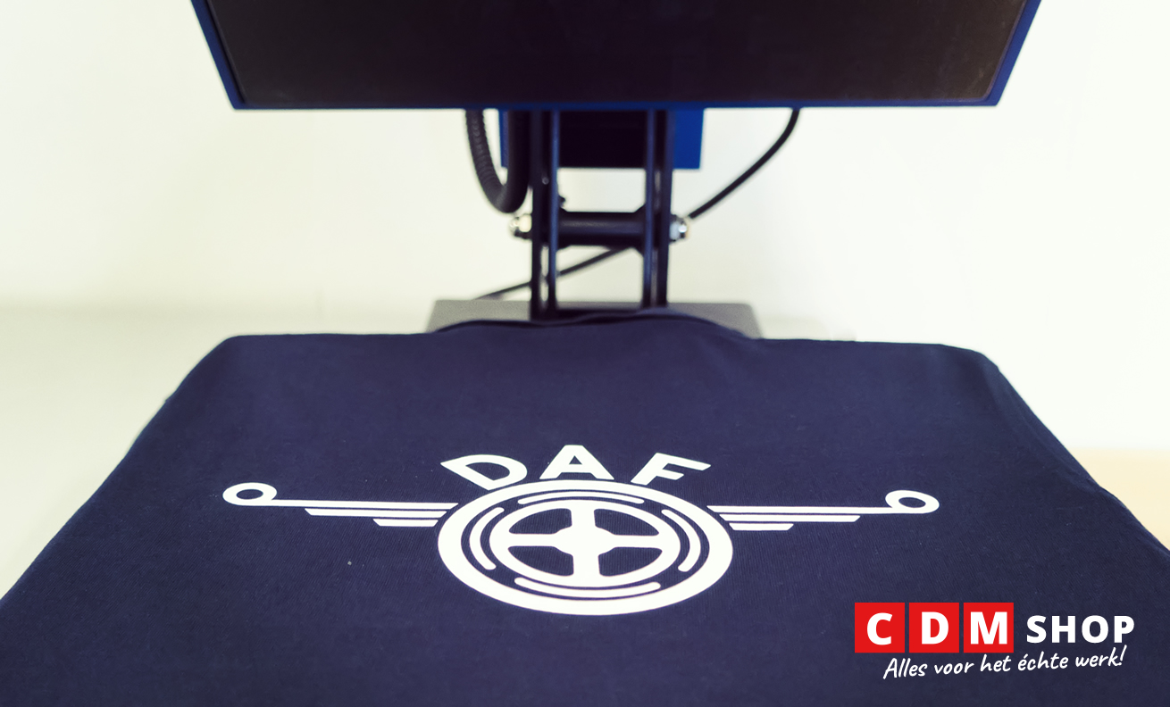 logo laten bedrukken met een heatpress
