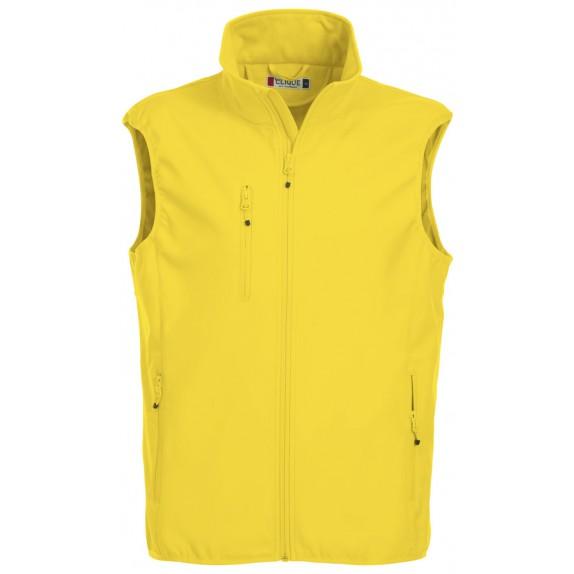 Clique Basic Softshell Hr Bodywarmer Lemon