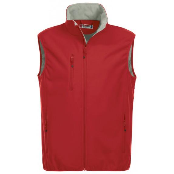 Clique Basic Softshell Hr Bodywarmer Red