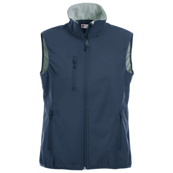 Clique Basic Softshell Ds Bodywarmer Donker Navy