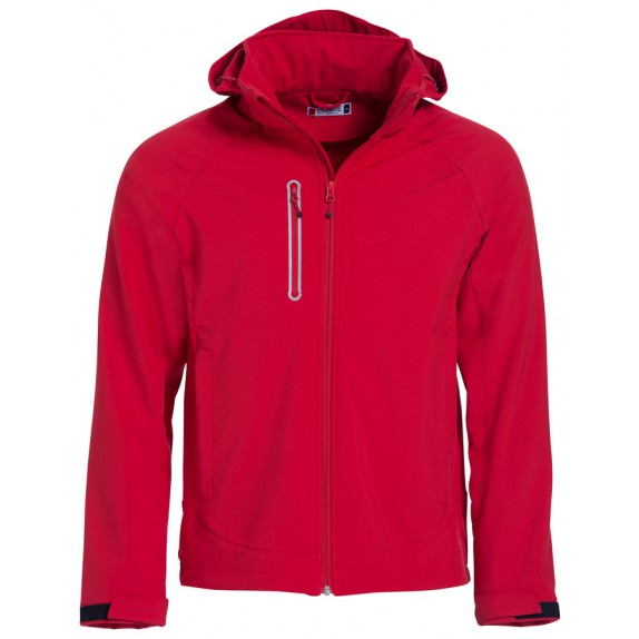 Clique Milford Softshell Red