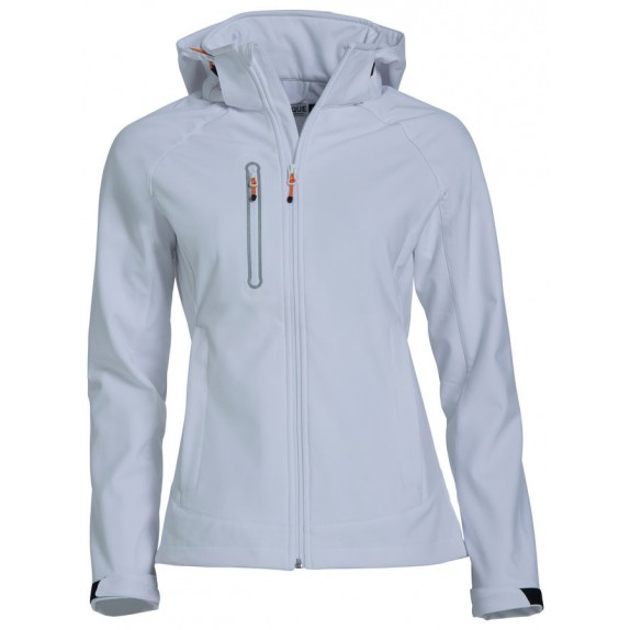 Clique Milford Softshell Ladies Wit