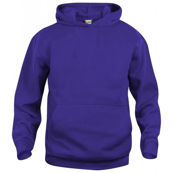Clique Basic hoody jr Helder Lila