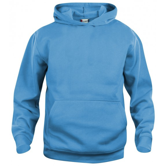 Clique Basic hoody jr Turquoise