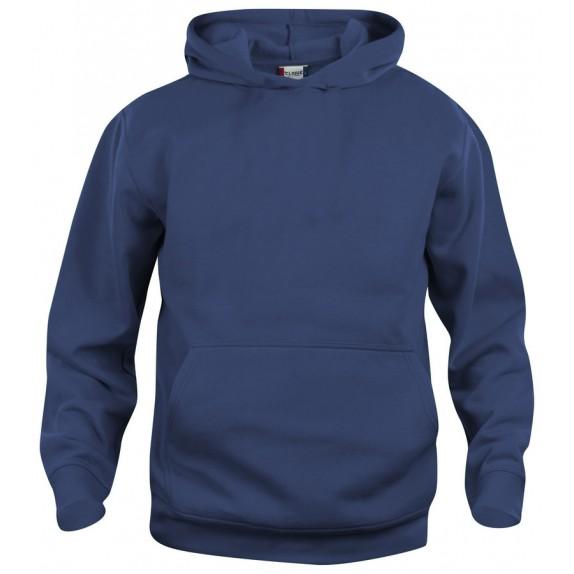 Clique Basic hoody jr Donker Navy