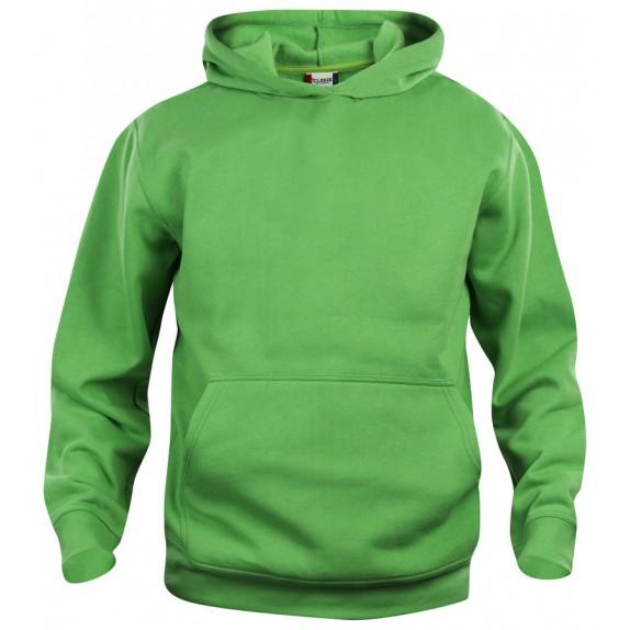 Clique Basic hoody jr Appelgroen