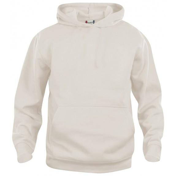 Clique Basic hoody jr Licht khaki
