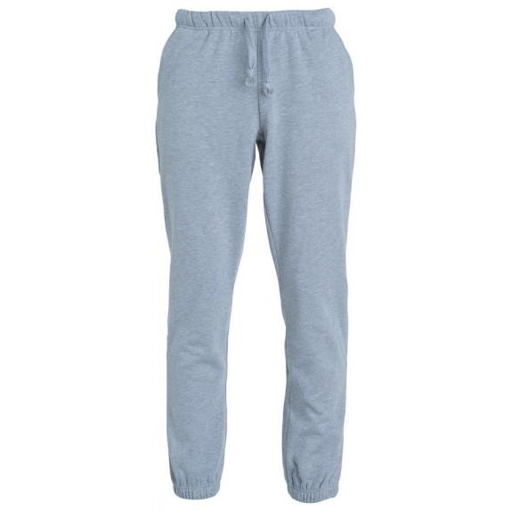 Clique Basic pants jr Grijs Melange