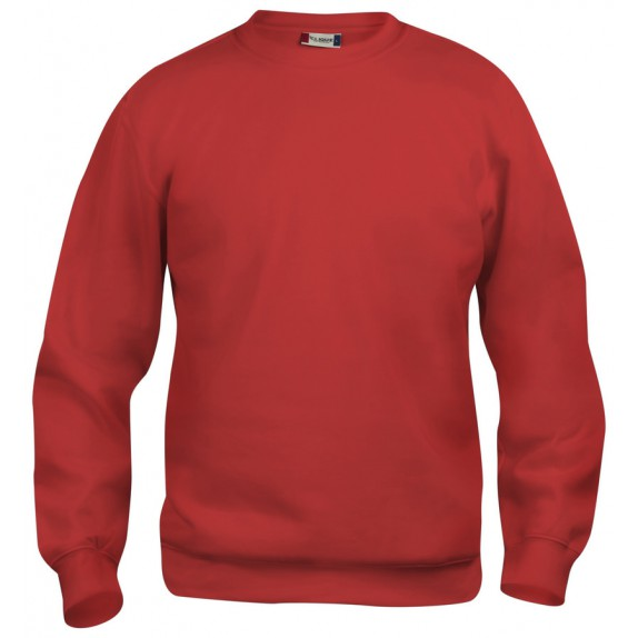 Clique Basic roundneck Rood