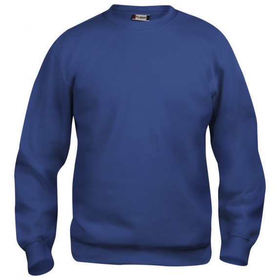 Clique Basic roundneck Blauw