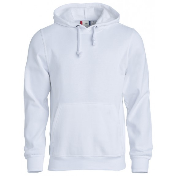Clique Basic hoody Wit