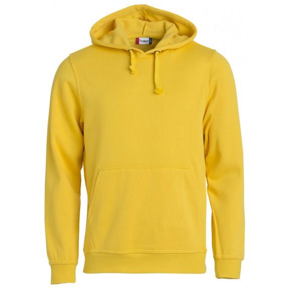 Clique Basic hoody Lemon