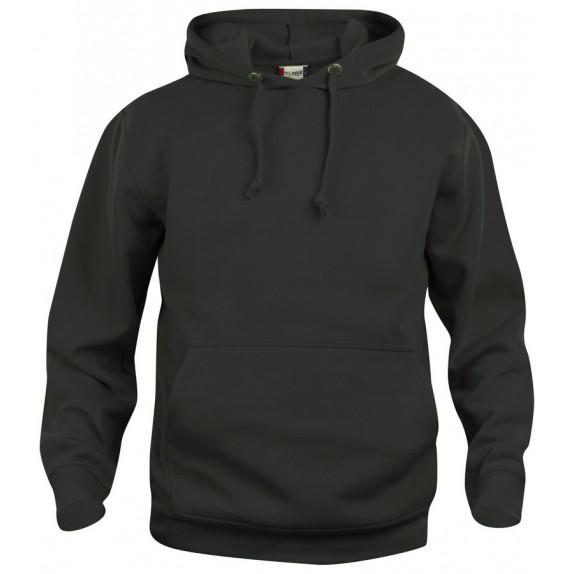 Clique Basic hoody Zwart