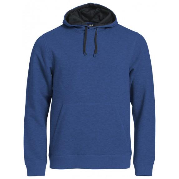 Clique Classic Hoody Blauw Melange