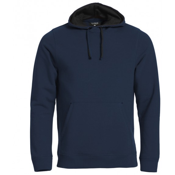 Clique Classic Hoody Donker Navy