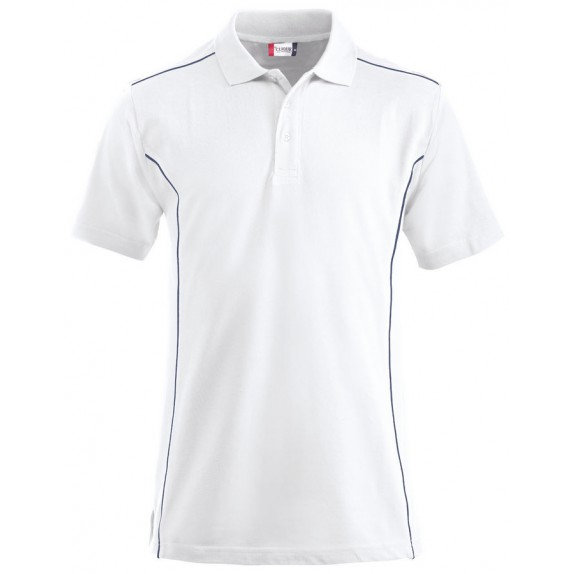 Clique New Conway Heren Polo Wit