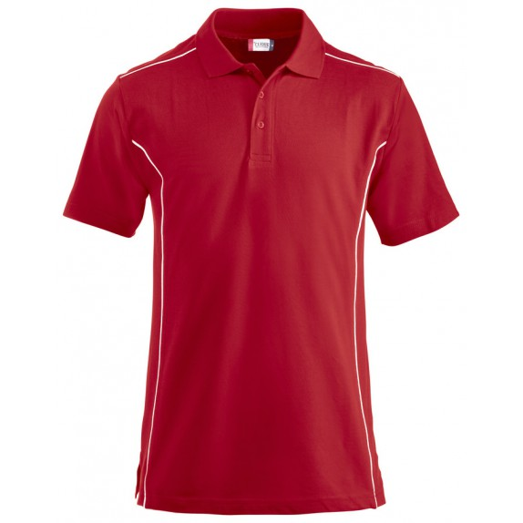 Clique New Conway Heren Polo Rood