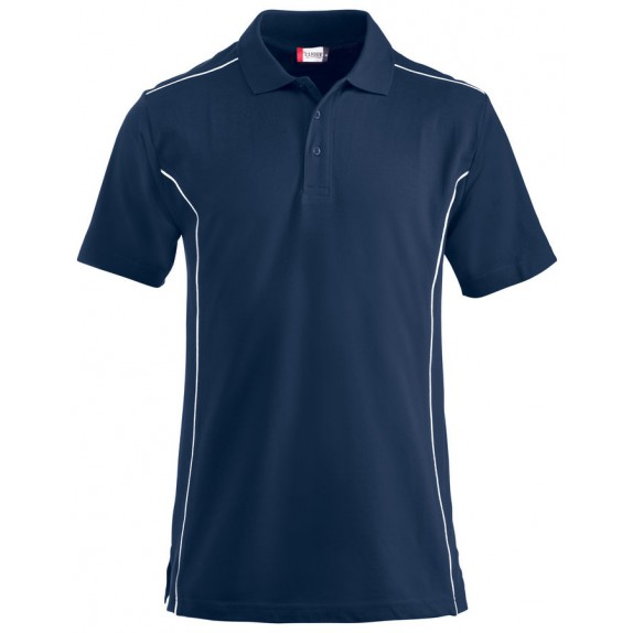 Clique New Conway Heren Polo Donker Navy