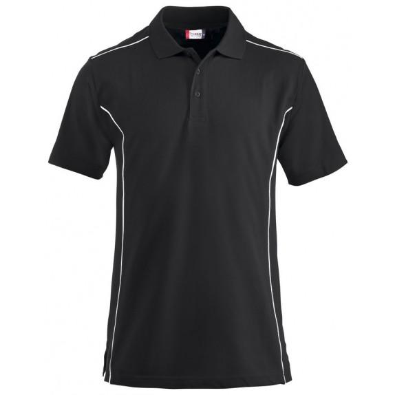 Clique New Conway Heren Polo Zwart