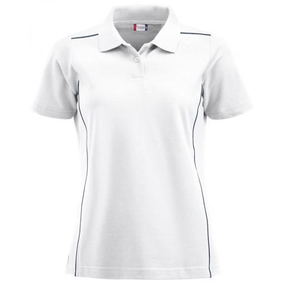 Clique New Alpena Dames Polo Wit