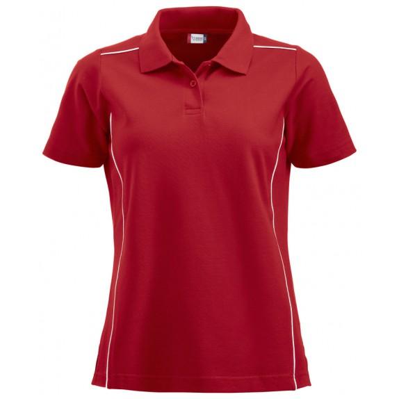 Clique New Alpena Dames Polo Rood