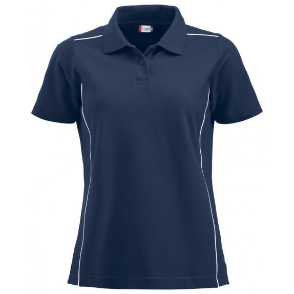 Clique New Alpena Dames Polo Donker Navy