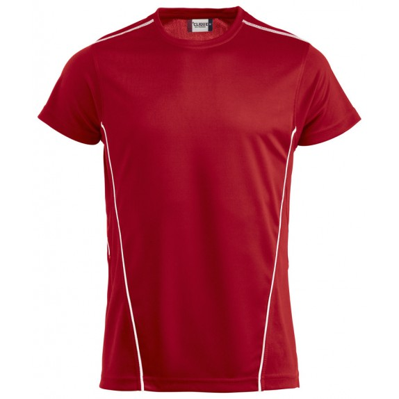 Clique Ice Sport T Rood/Wit