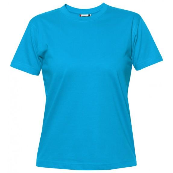 Clique Premium-T Ladies Turquoise