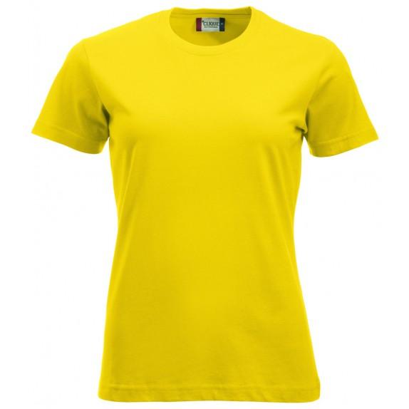 Clique New Classic T Ladies Lemon