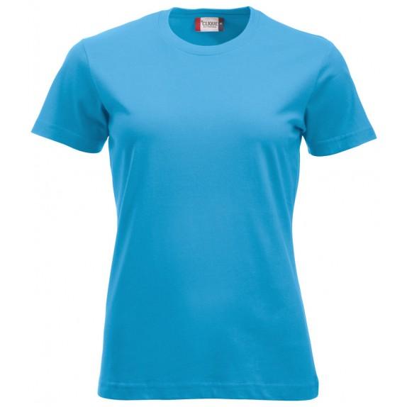 Clique New Classic T Ladies Turquoise
