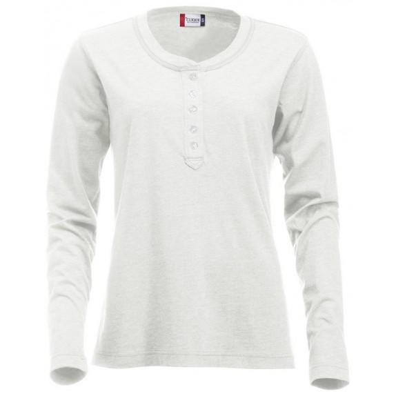 Clique Orlando ds T-shirt Steenwit