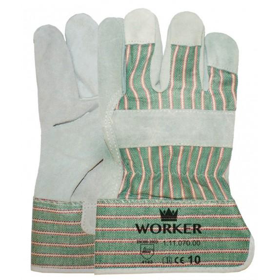 A-kwaliteit splitlederen handschoen
