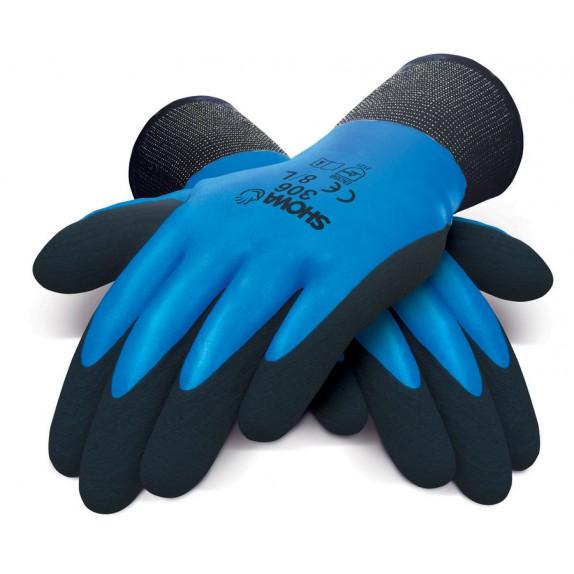 Showa 306 Dual Latex handschoen
