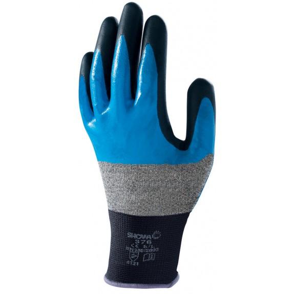 Showa 376R Nitril Foam Grip handschoen