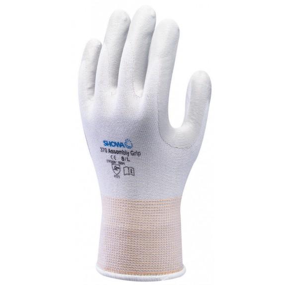 Showa 370 Assembly Grip White handschoen