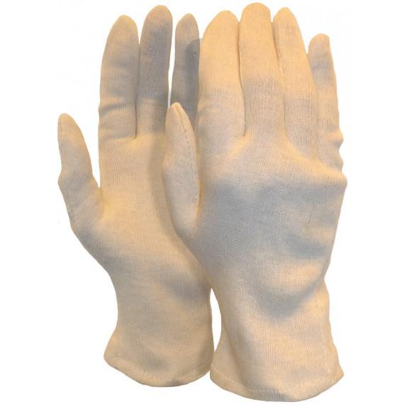 Interlock handschoen van 100% katoen herenmaat (200 grams) maat 10