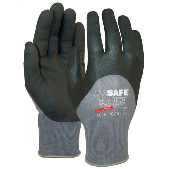 M-Safe Nitri-Tech Foam 14-692 handschoen