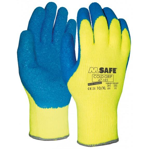M-Safe Coldgrip Hi-Viz 47-185 handschoen