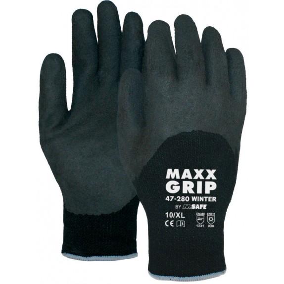 Maxx-Grip Winter 47-280 handschoen ¾ gecoat handschoen