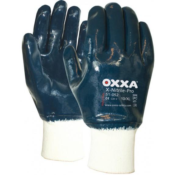 Oxxa X-Nitrile-Pro 51-052 met tricot manchet en gesloten rugzijde