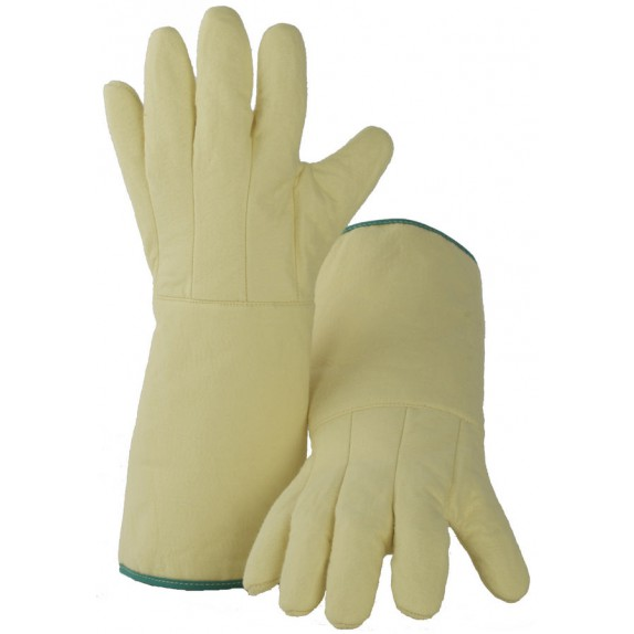 Kevlar vilt handschoen (Heatbeater-2) lengte 420 mm maat 10