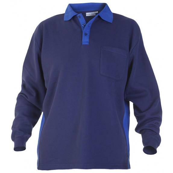 Hydrowear Tegelen Sweater Marineblauw/Kobalt