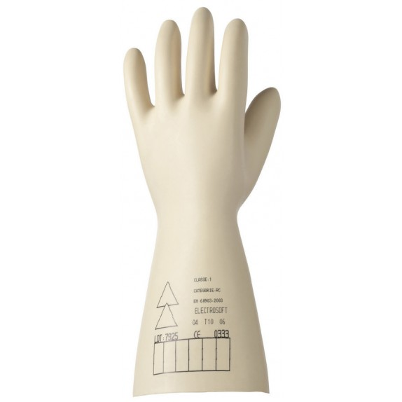 Honeywell Electrosoft Latex CL1 handschoen (2091912) werkspanning max. 7500 Volt
