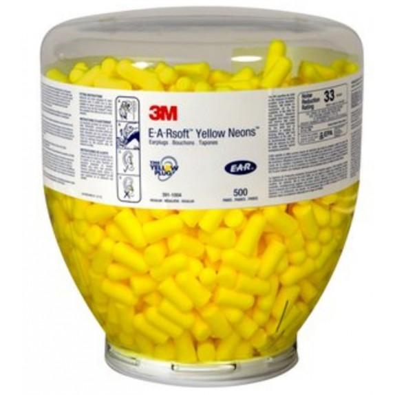 3M E-A-RSoft Yellow Neons PD-01-002 oordoppen navulling à 500 paar