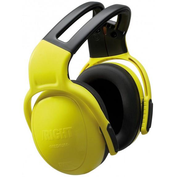 MSA gehoorkap left/RIGHT MEDIUM met hoofdbeugel geel SNR 28 dB(A) (10087425)