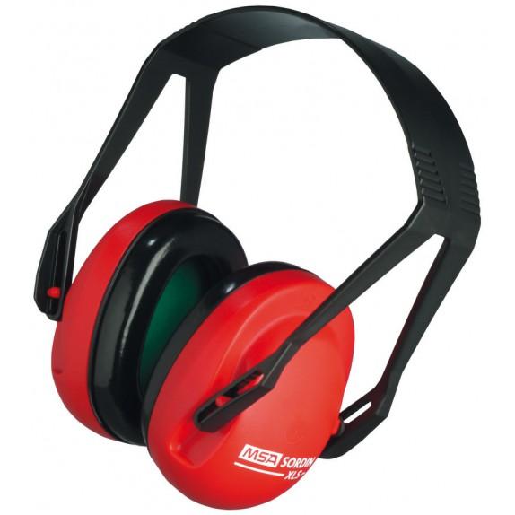 MSA gehoorkap XLS met hoofdbeugel (SOR24010)