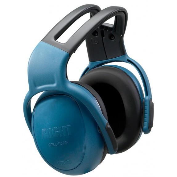 MSA gehoorkap left/RIGHT MEDIUM met hoofdbeugel blauw SNR 28 dB(A) (10087426)