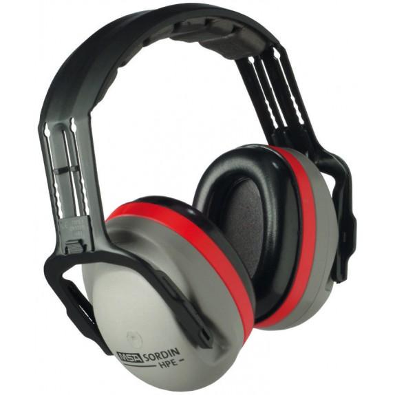 MSA gehoorkap HPE met hoofdbeugel SNR 32 dB(A) (SOR22010)
