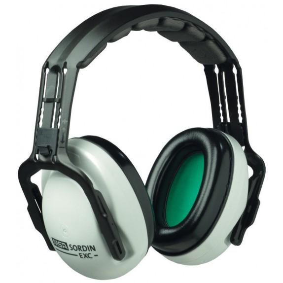 MSA gehoorkap EXC met hoofdbeugel SNR 27 dB(A) (SOR20010)