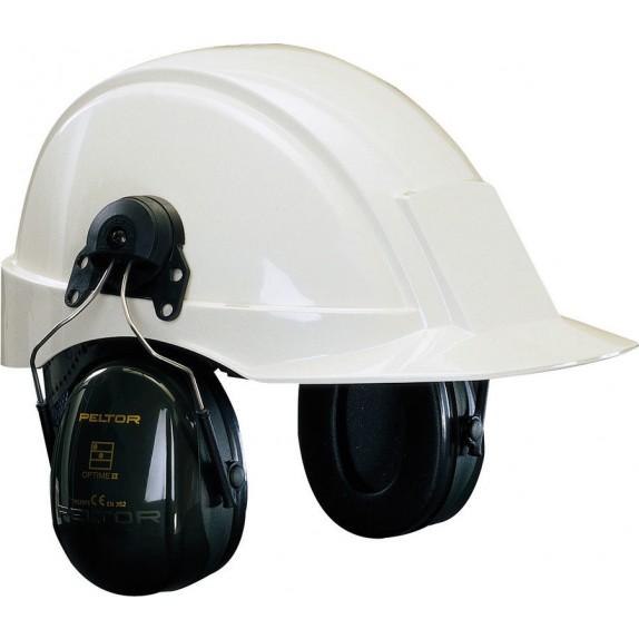 3M Peltor Optime II gehoorkap met helmbevestiging SNR 30 dB(A) (H520P3E-410-GQ)